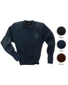 Men's Police Sweater - Hotel Uniforms