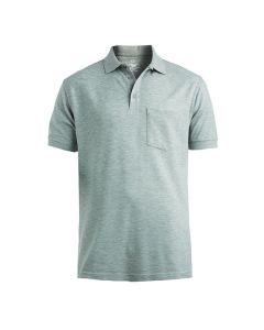 Cotton Pique Polo with Pocket