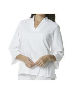 Female V-Neck Spa Tunic - Hotel Uniforms