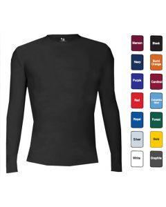 Men's B-Fit Compression L/S Crew - Hotel Uniforms