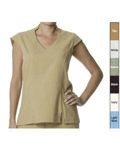 Female V Crop Tunic - Hotel Uniforms