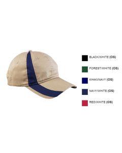 Colorblock Sport Cap - Valet Uniforms