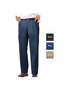 Men's Pleated Pant - Hotel Uniforms