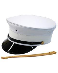 D1 Doorman Bellman Firebell Hat - Bellman and Hotel Uniforms