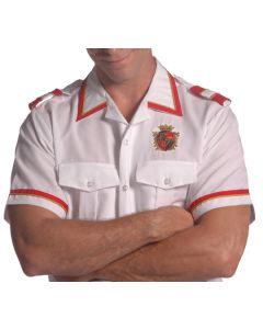 Men's Custom Military Valet Shirt - Bellman Uniforms