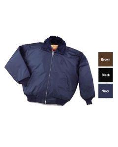 Men's Bomber Jacket w/ Epaulets - Hotel Uniforms