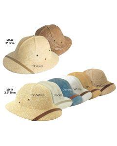 Resort Pith Helmet - Bellman and Hotel Uniforms