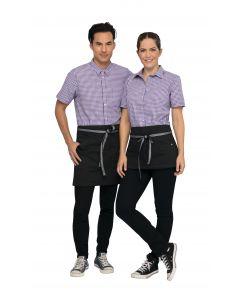 Berkeley Waist Apron: Jet Black - Culinarily Uniforms