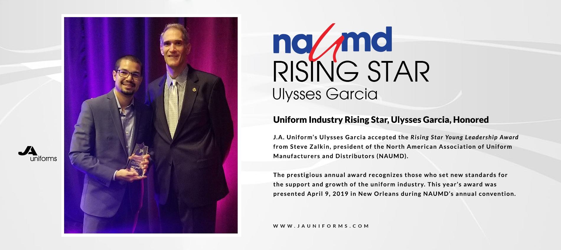 NAUMD Rising Star Ulysses Garcia